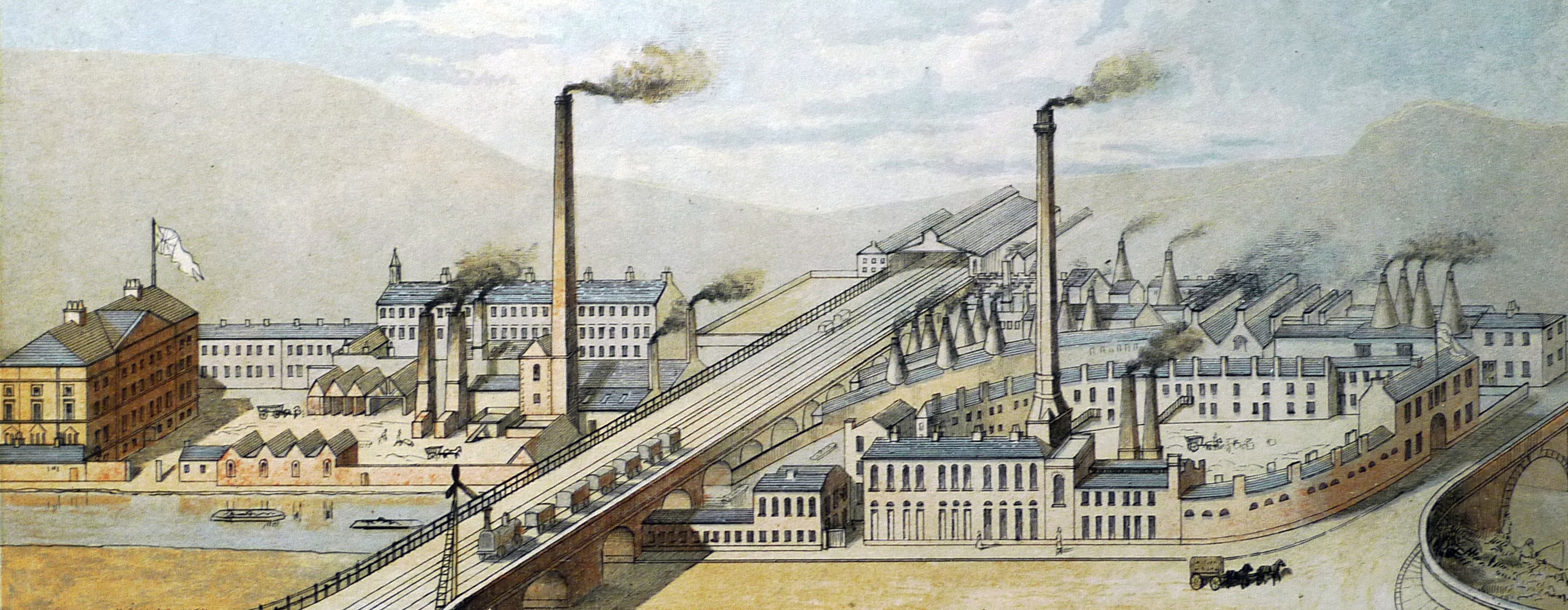 Sheaf Works-engraving