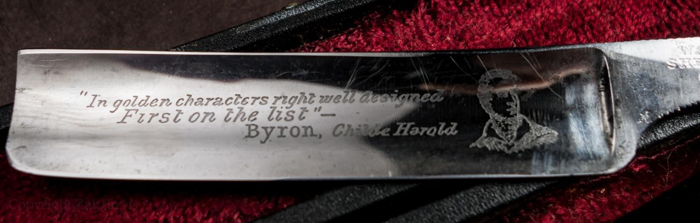 Lord Byron Razor