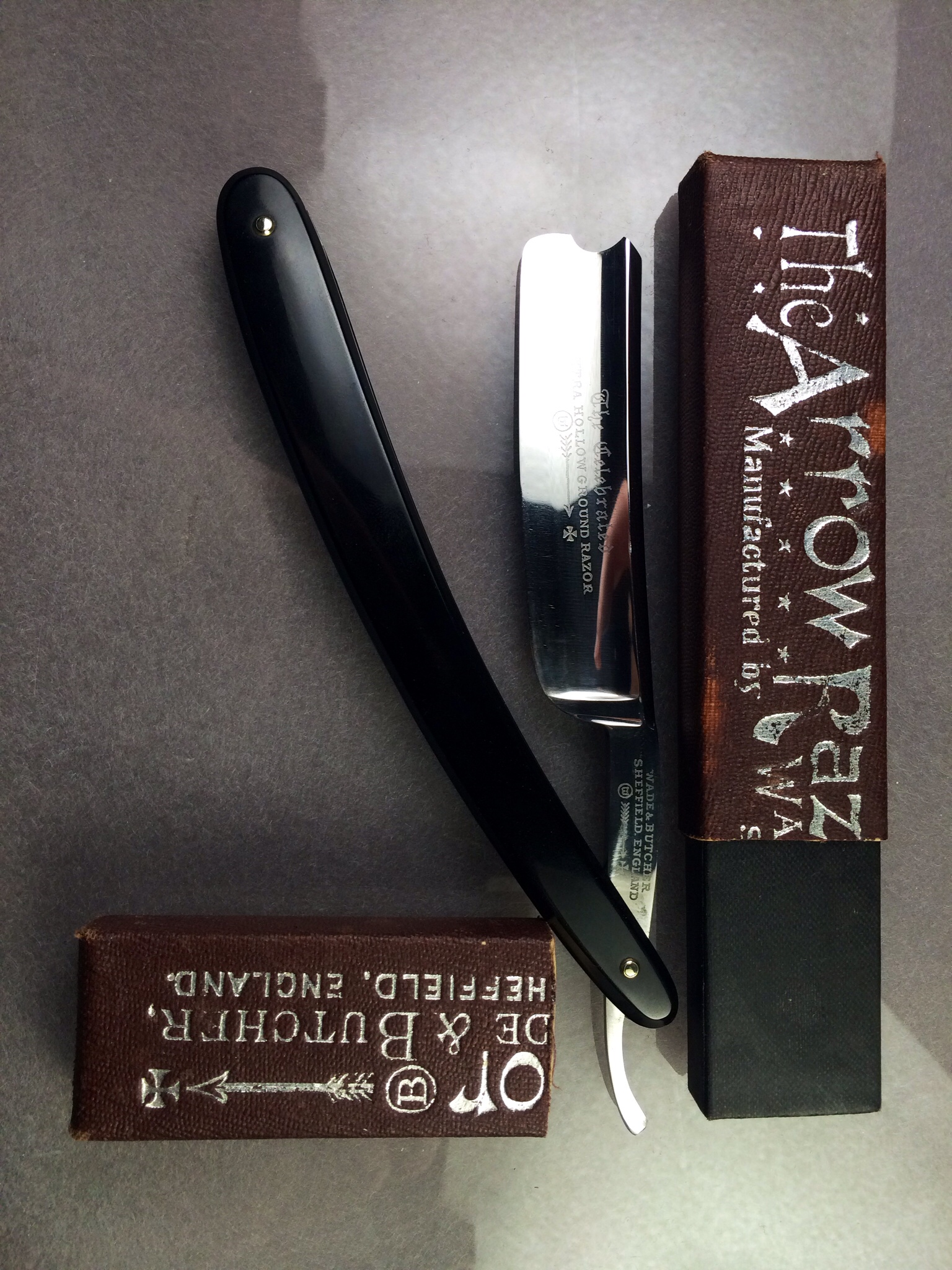 Wade & Butcher 'The Arrow Razor'